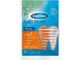 DenTek Easy Brush Interdental Buersten Extra Fein 2 3mm ISO 1