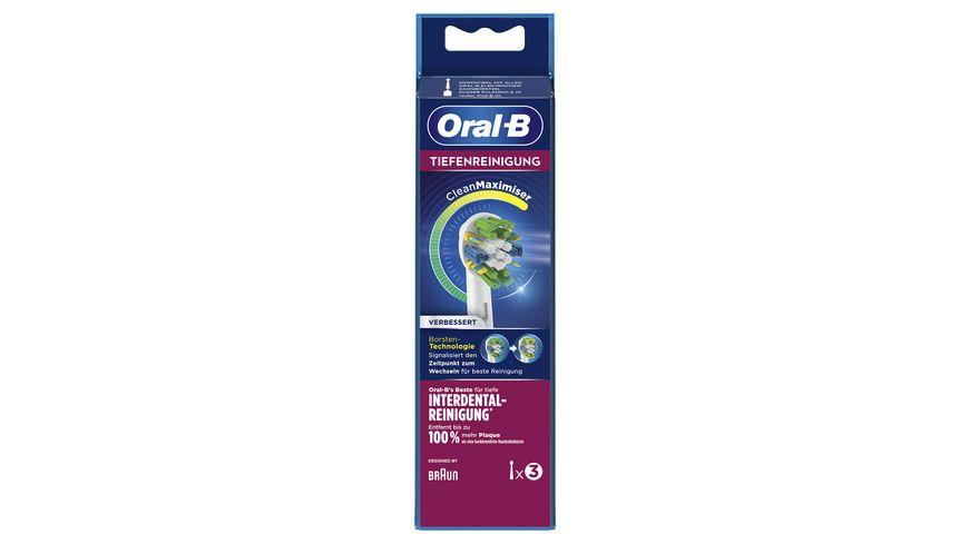 Oral B Aufsteckbuersten Tiefenreinigung 3 Stueck