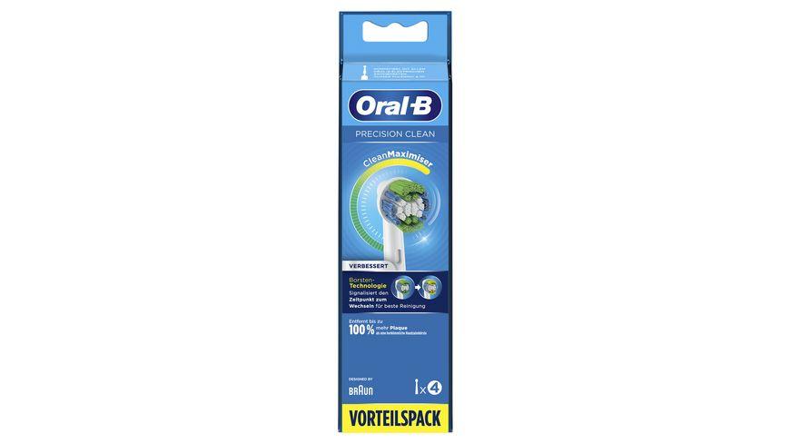 Oral B Aufsteckbuersten Precision Clean 4 Stueck