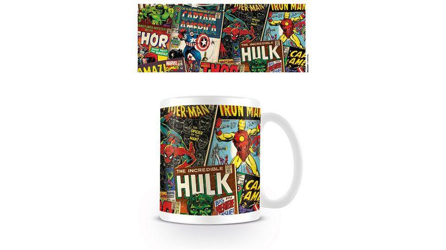 Marvel Retro - Covers - Keramik Tasse