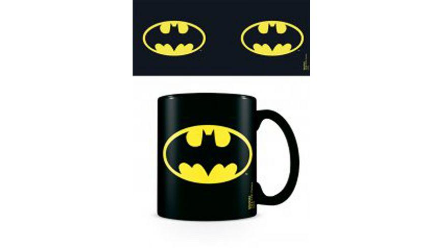 DC Comics - Batman Logo - Keramik Tasse