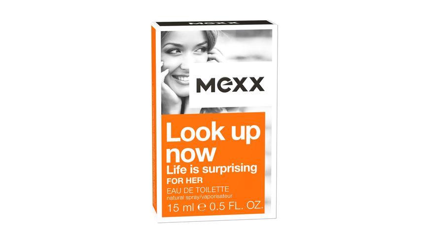 MEXX Look up now for her Eau de Toilette Natural Spray