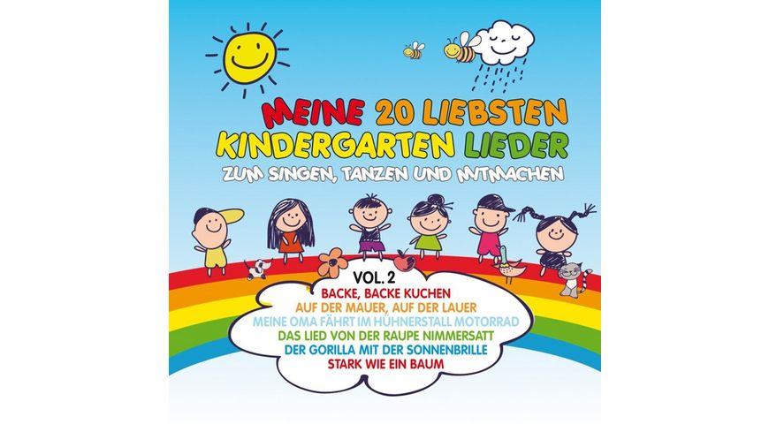Meine 20 Liebsten Kindergarten Lieder Vol 2