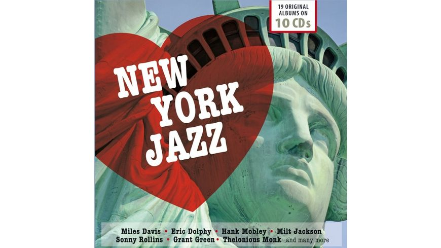 New York City Jazz 19 Original Albums