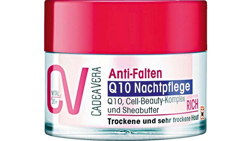 CV Vital Anti Falten Q10 Nachtpflege rich