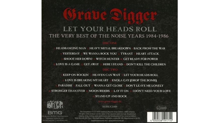 Let Your Heads Roll Very Best Of The Noise Years