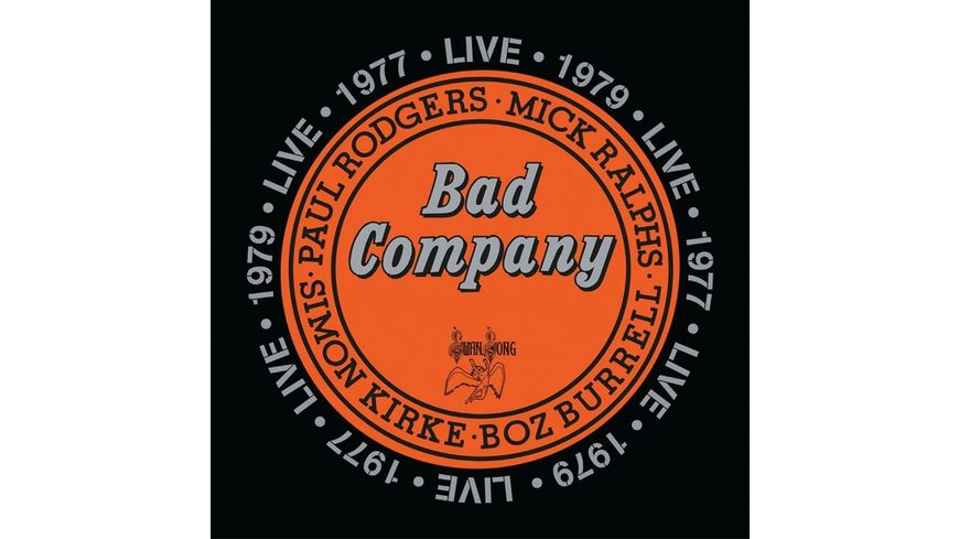 Bad Company Live In Concert1977 1979