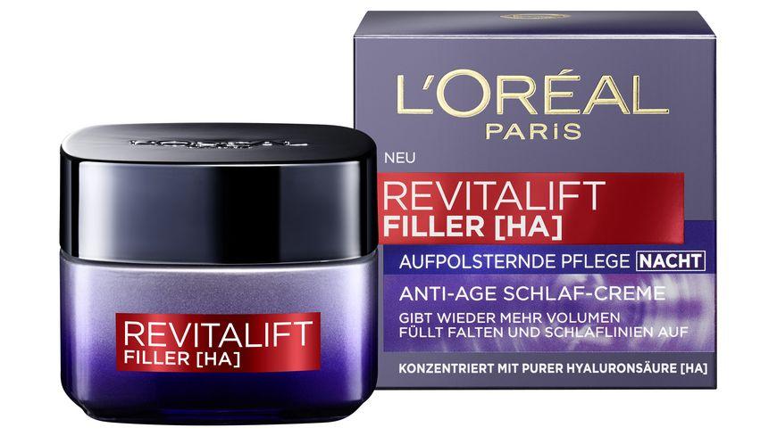 L OREAL PARIS REVITALIFT Filler Nachtpflege