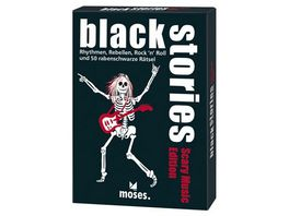 moses black stories Scary Music Edition