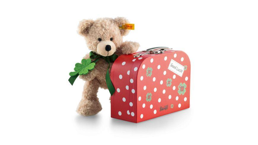Steiff Fynn Teddybaer im Koffer 24 cm