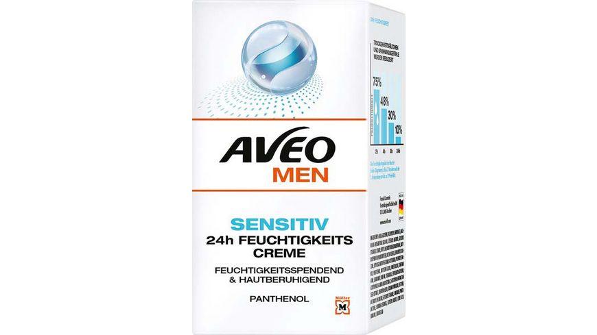AVEO MEN Sensitiv 24h Feuchtigkeitscreme