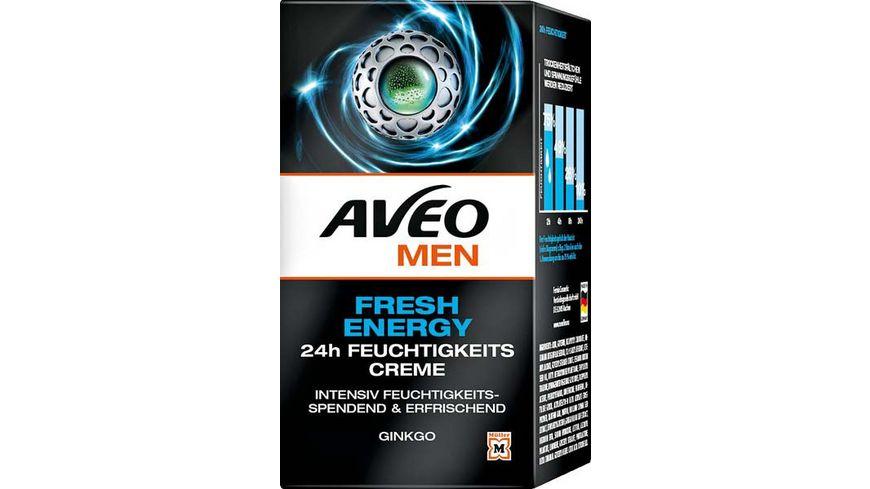 AVEO MEN Feuchtigkeitscreme Fresh Energy 24h