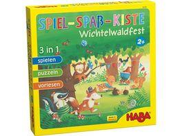 HABA Spiel Spass Kiste Wichtelwaldfest