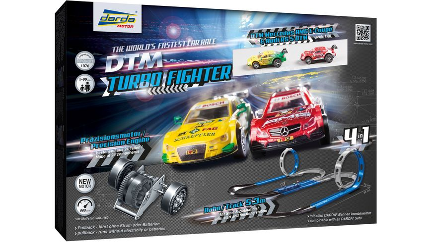 Darda Spielsets 50244 DTM Turbo Fighter