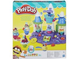 Hasbro Play Doh Eiscreme Schloss