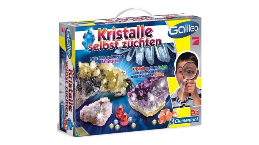 Clementoni Galileo Kristalle selbst zuechten