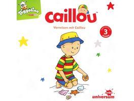 Verreisen mit Caillou