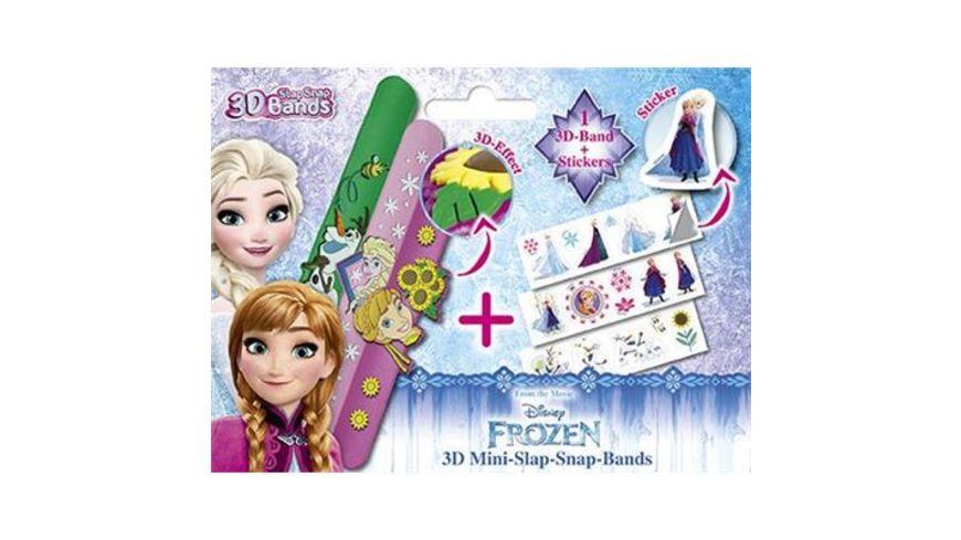 CRAZE 3D Mini Slap Snap Band Frozen