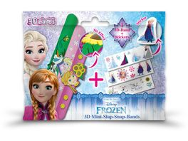 CRAZE 3D Mini Slap Snap Band Frozen