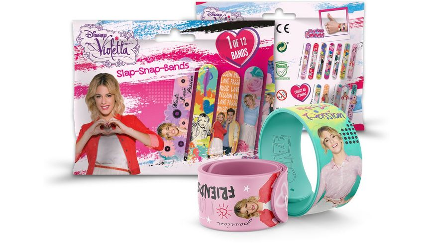 CRAZE Slap Snap Band Violetta