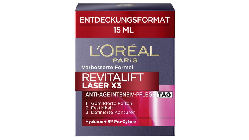 L OREAL PARIS REVITALIFT Laser X3 Tagescreme