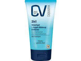 CV Face 2in1 Mizellen Waschgel Augen Make up Entferner