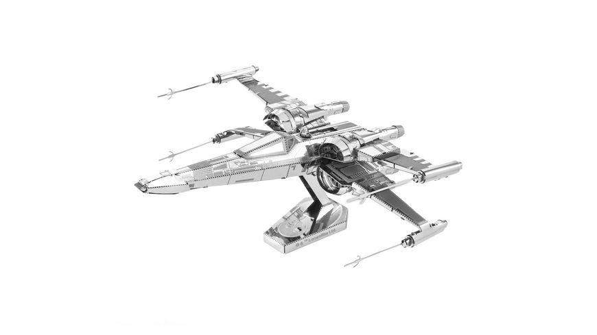 Metal Earth 502665 Poe Dameron s X Wing Figther