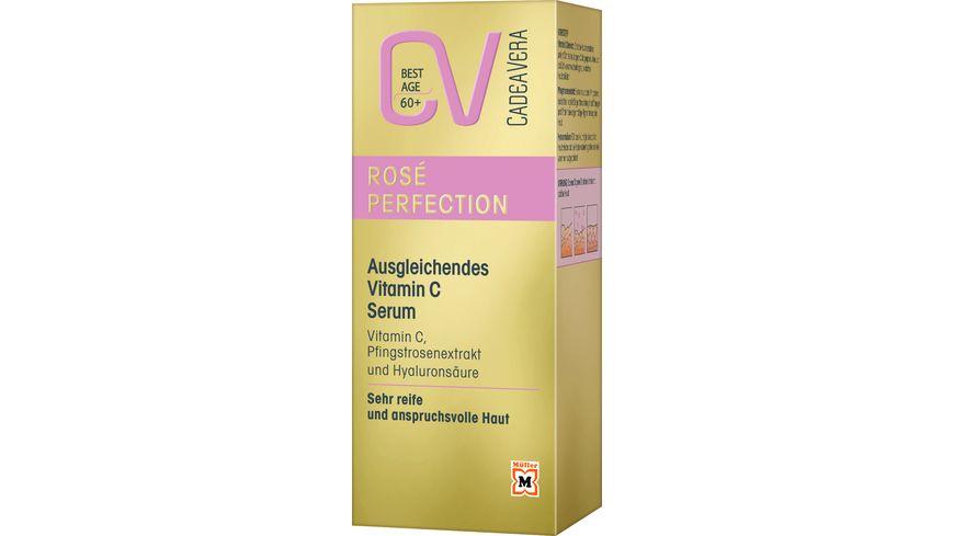 CV Best Age ROSE PERFECTION Ausgleichendes Vitamin C Serum