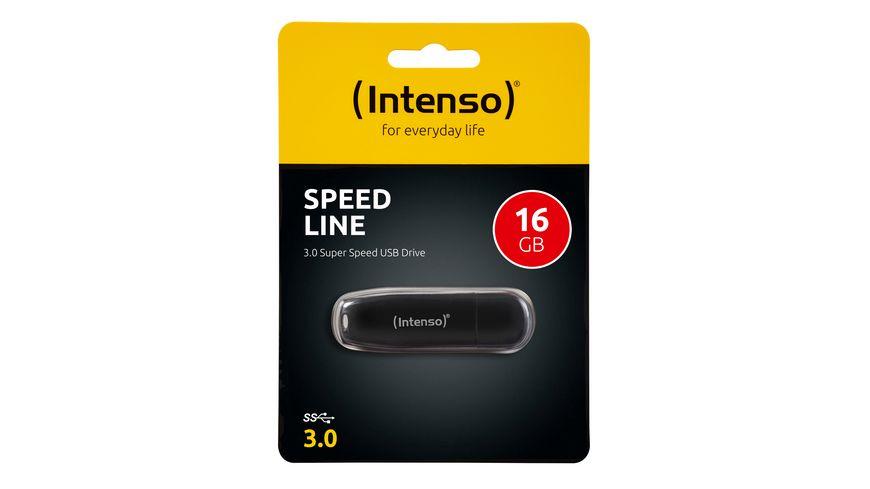 Intenso USB Stick 3 0 Speed Line 16 GB
