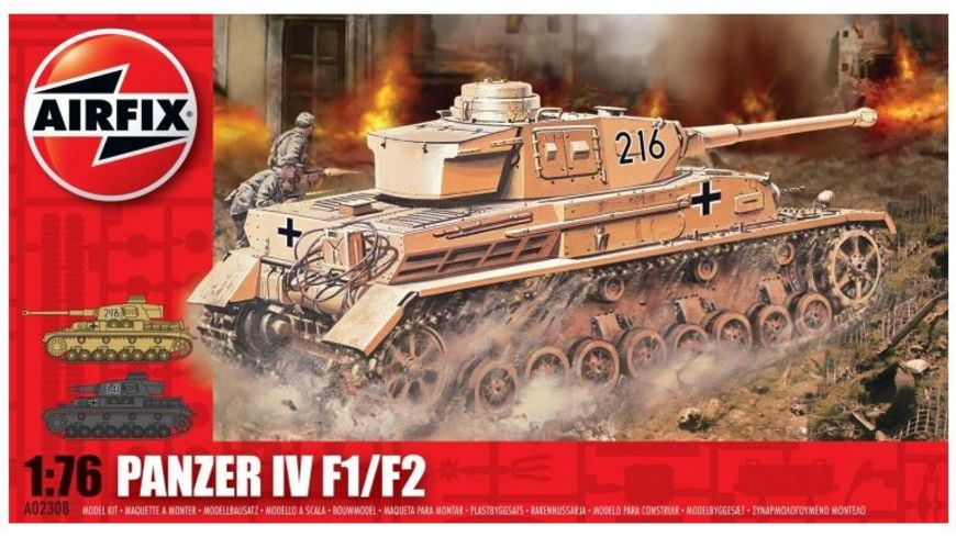 Airfix 02308 Modellbausatz PANZER IV TANK