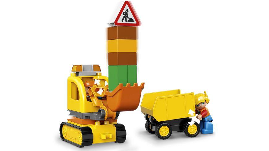 LEGO DUPLO 10812 Bagger Lastwagen