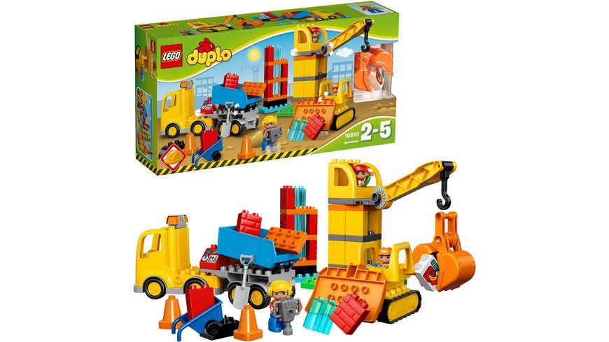 LEGO DUPLO 10813 Grosse Baustelle