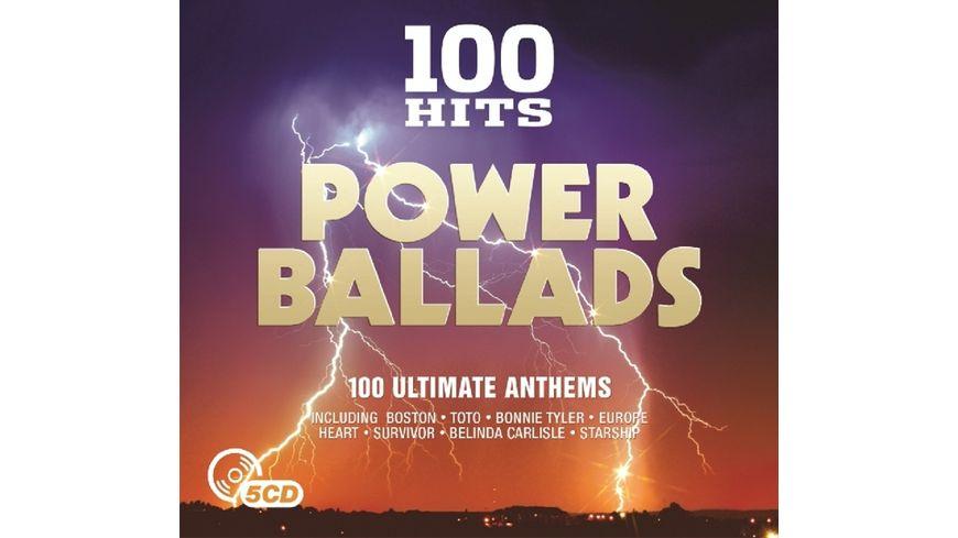100 Hits Power Ballads