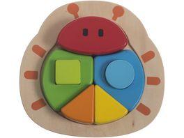 Bieco 3 D Puzzle Kaefer ca 18x 7x3 cm