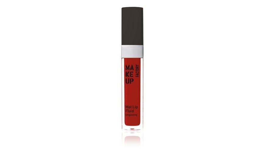 MAKE UP FACTORY Mat Lip Fluid Longlasting