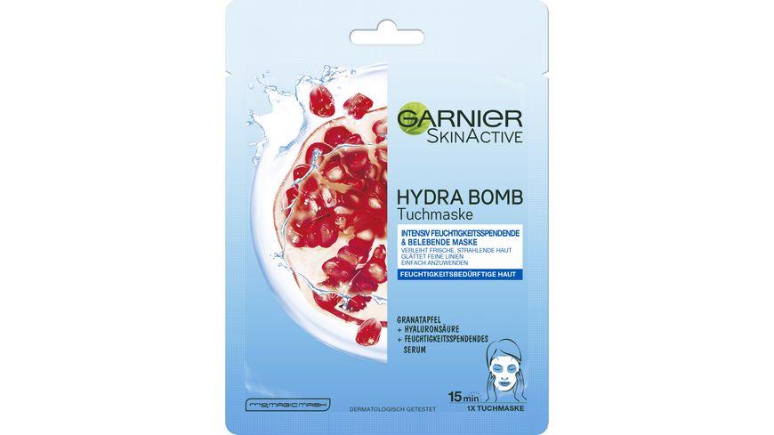 GARNIER SkinActive HYDRA BOMB Tuchmaske Feuchtigkeitsarme Haut