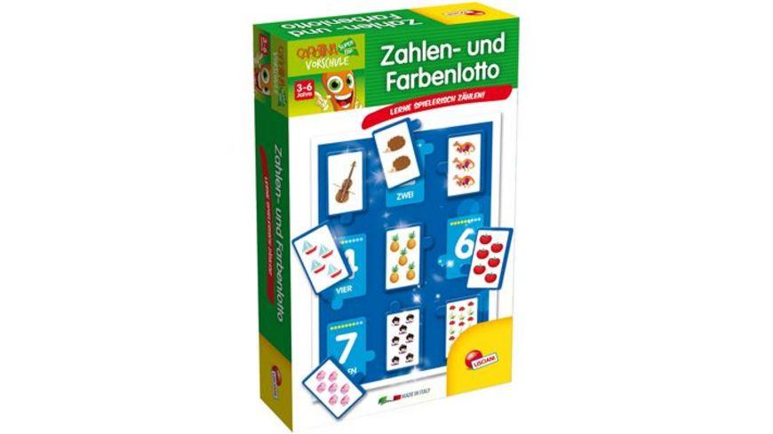 Carotina Lernspiel Zahlen und Farbenlotto