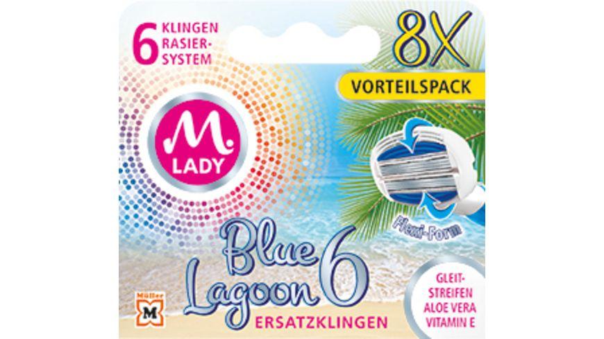 M LADY Ersatzklingen Blue Lagoon 6 8 Stueck