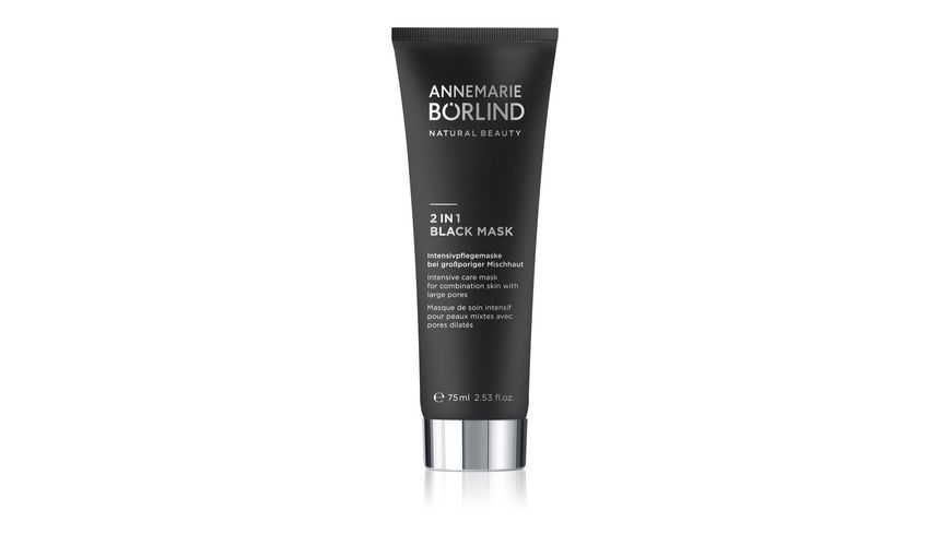ANNEMARIE BOeRLIND 2 in 1 Black Mask