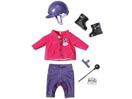 Zapf Creation Baby Born Pony Farm Deluxe Reit Outfit