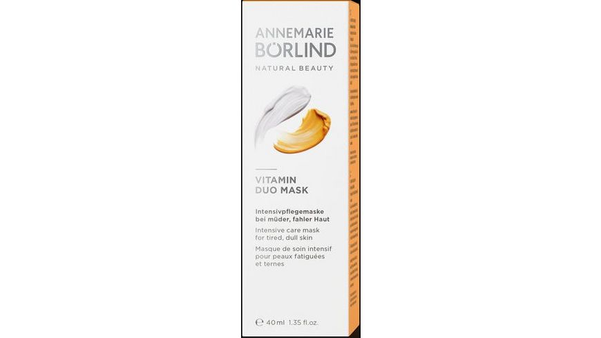 ANNEMARIE BOeRLIND Vitamin Duo Mask
