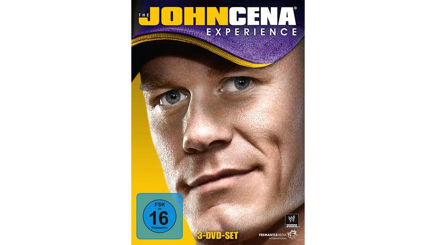 The John Cena Experience 3 DVDs DVD