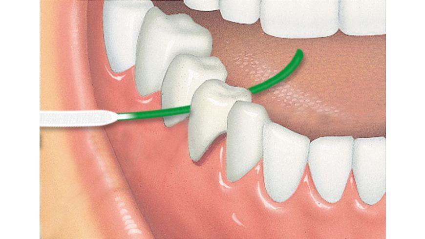 GUM ACCESS Floss Zahnseide mit Einfaedelhilfe