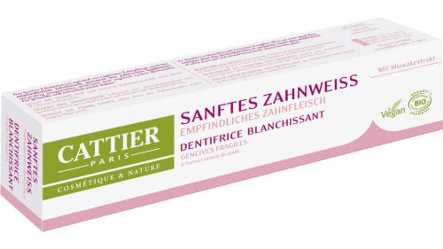 CATTIER Zahncreme Sanftes Zahnweiss