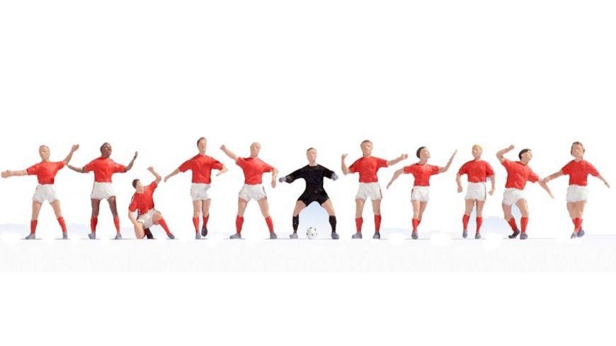 NOCH 15979 H0 Figuren Fussball Team Oesterreich
