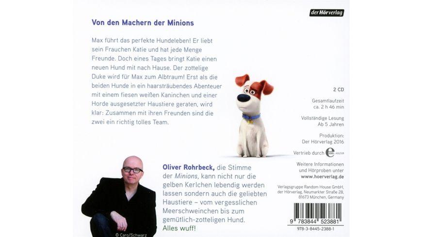 The Secret Life Of Pets Original Hoerbuch Zum Film