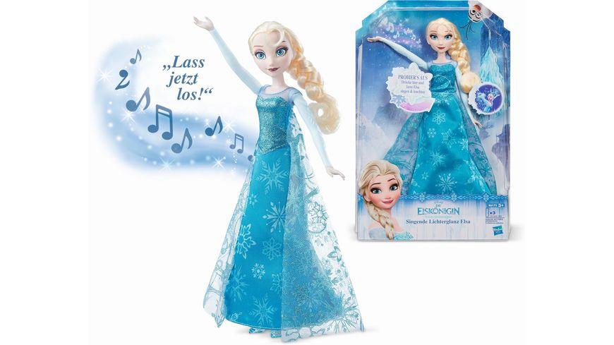 Hasbro Disney Die Eiskoenigin Die Eiskoenigin singende Lichterglanz Elsa