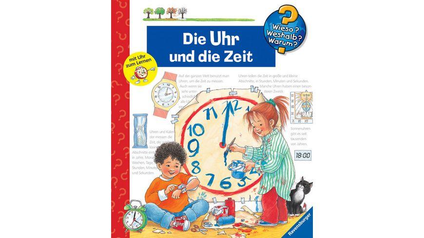 Ravensburger Buch Wieso Weshalb Warum Die Uhr und die Zeit