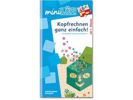 Buch Westermannn miniLUeK Kopfrechnen ganz einfach Intell Impulse 1