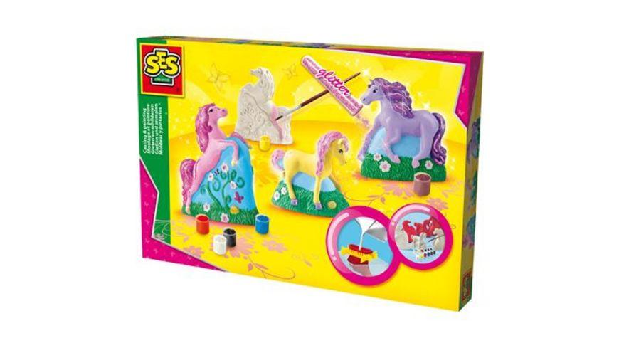SES Creative Gipsfiguren Pferde